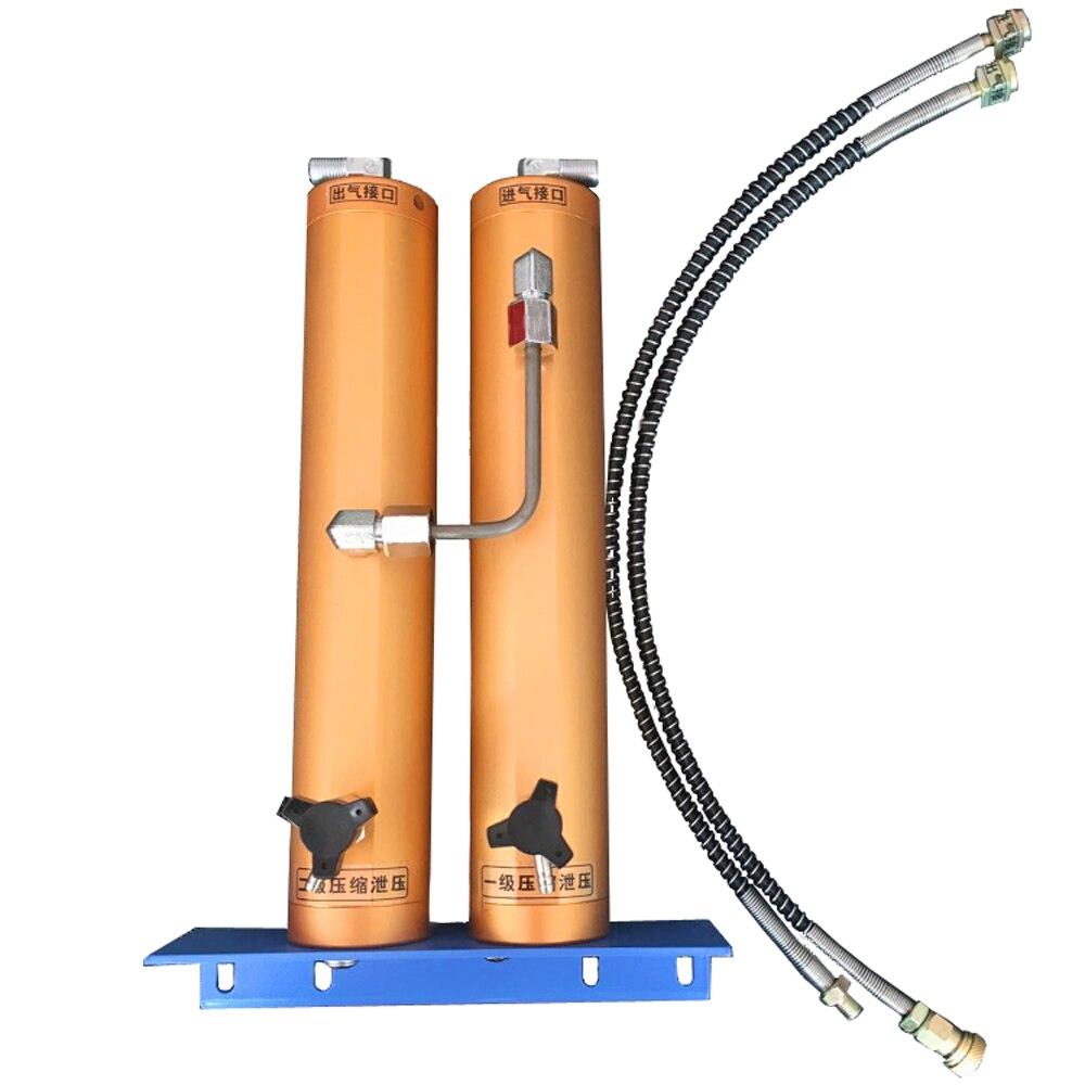 30Mpa Air Filtre Externe D'eau-Sparator huile Double Seau De Filtration pour plongée sous-marine haute-pression compresseur d'air air pompe