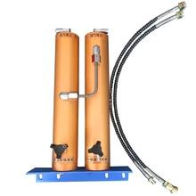 30Mpa hava filtresi dış su yağ ayırıcı çift kova filtrasyon tüplü dalış için yüksek basınçlı hava kompresörü hava pompası