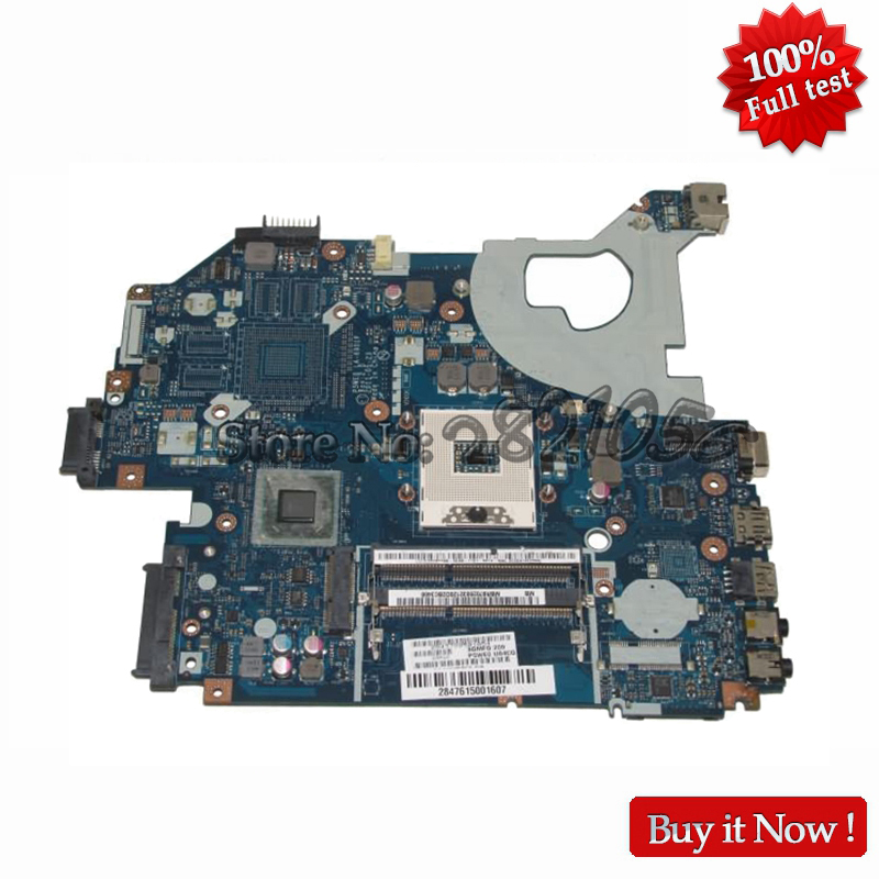 NOKOTION laptop motherboard for acer aspire 5750 5750G LA-6901P MBR9702003 MB.R9702.003 main board hm65 DDR3 100% tested original laptop motherboard fit for acer aspire 8920g mbap50b001 6050a2184601 mb a02 965pm ddr3 fully tested