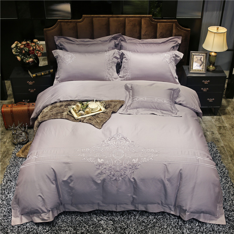 Aliexpress.com : Buy IvaRose 4 Pieces Embroidery Bed Set