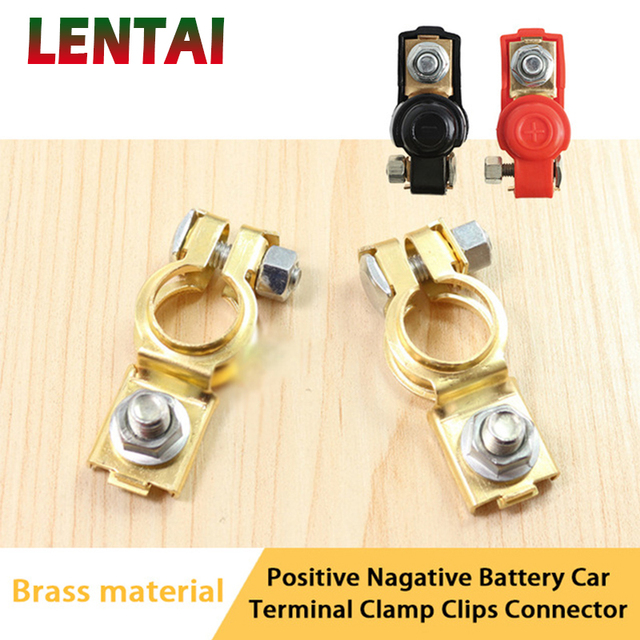 Lentai For Chevrolet Cruze Captiva Aveo Volvo Xc90 S60 Xc60 Fiat 500 Punto 1set Car Battery Cut Off Protection Switch Clip Clamp