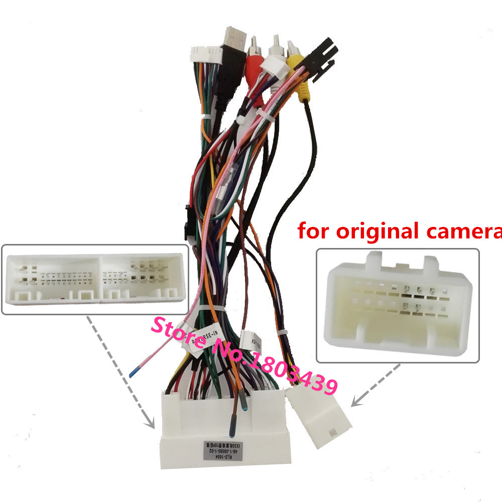 Power Adapter Wiring Harness For Klyde Kia K2 K3 K5 K7 Rio Sorents Sportage  Hyundai Ix35 Ix45