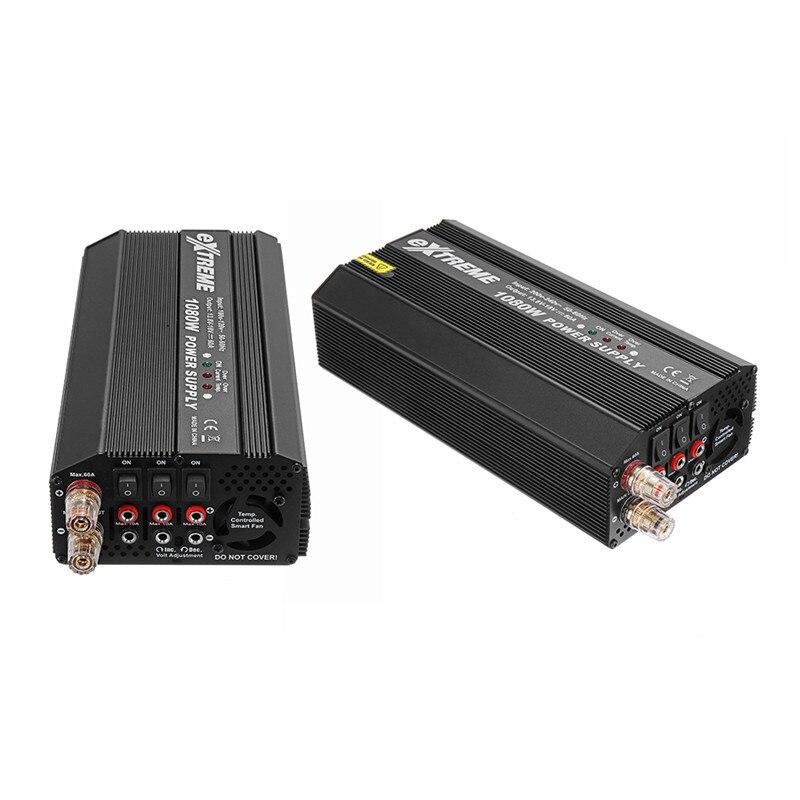 SKYRC экстремальных БП 1080 Вт 18 В 60A Питание адаптер для ISDT T8 я Зарядное устройство X6 308 4010 Зарядное устройство