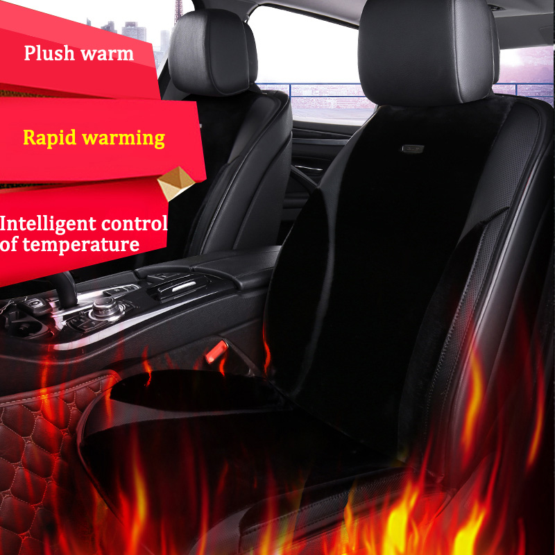 купить 12V/24V Winter car heated seats cushion/universal warmth car seat covers for Mercedes-Benz B180 C200 E260 CL CLA  GLK300 ML S350 по цене 4760.67 рублей