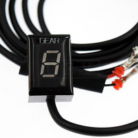 Motorcycle LCD Electronics 1 6 Level Gear Indicator Digital Gear Meter For Honda CBR600RR CBR 600