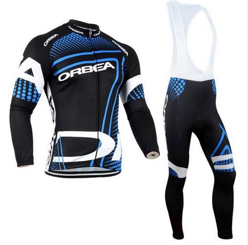 Orbea 2018 Cycling Jerseys Thin Long Sleeves Cycling Set Ropa Ciclismo Bike MTB Clothing Pants Suit 9D Gel Pad