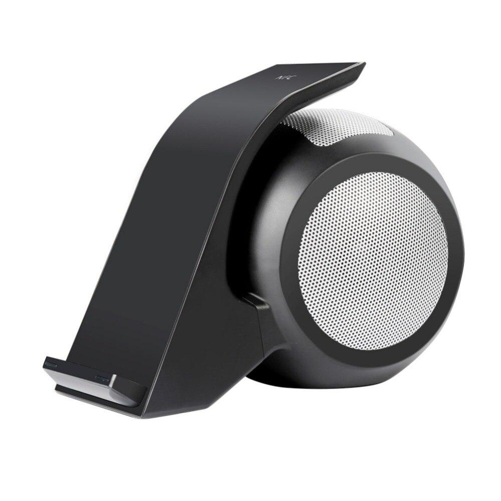 Bluetooth haut-parleur sans fil chargeur Avec Stéréo Bluetooth Haut-parleurs Haute Efficacité Pour Mobile Téléphones Tablet Prger pour téléphone