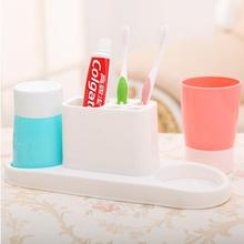 Brushing Cup Rack Bathroom Toothbrush Holder Storage Shelf BB-0011077