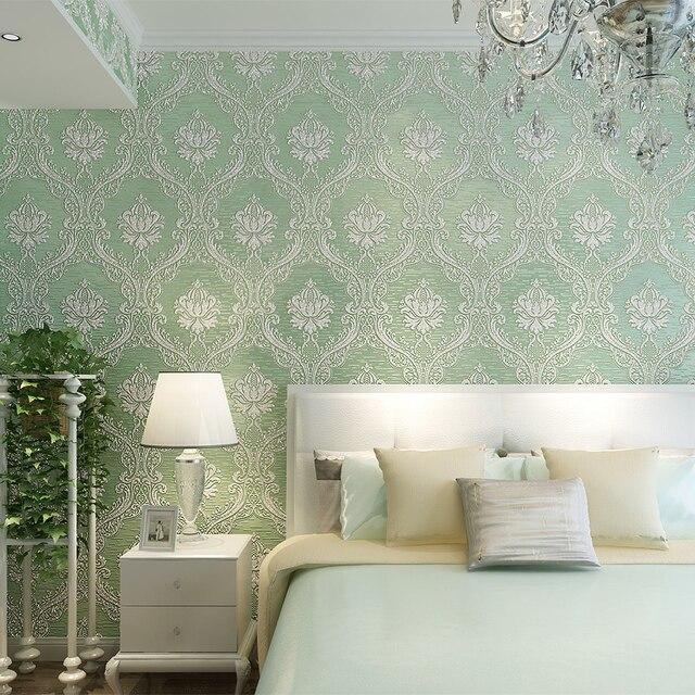 Papeles decorativos pared interiores espacios pequeos - Papel decorativo ikea ...