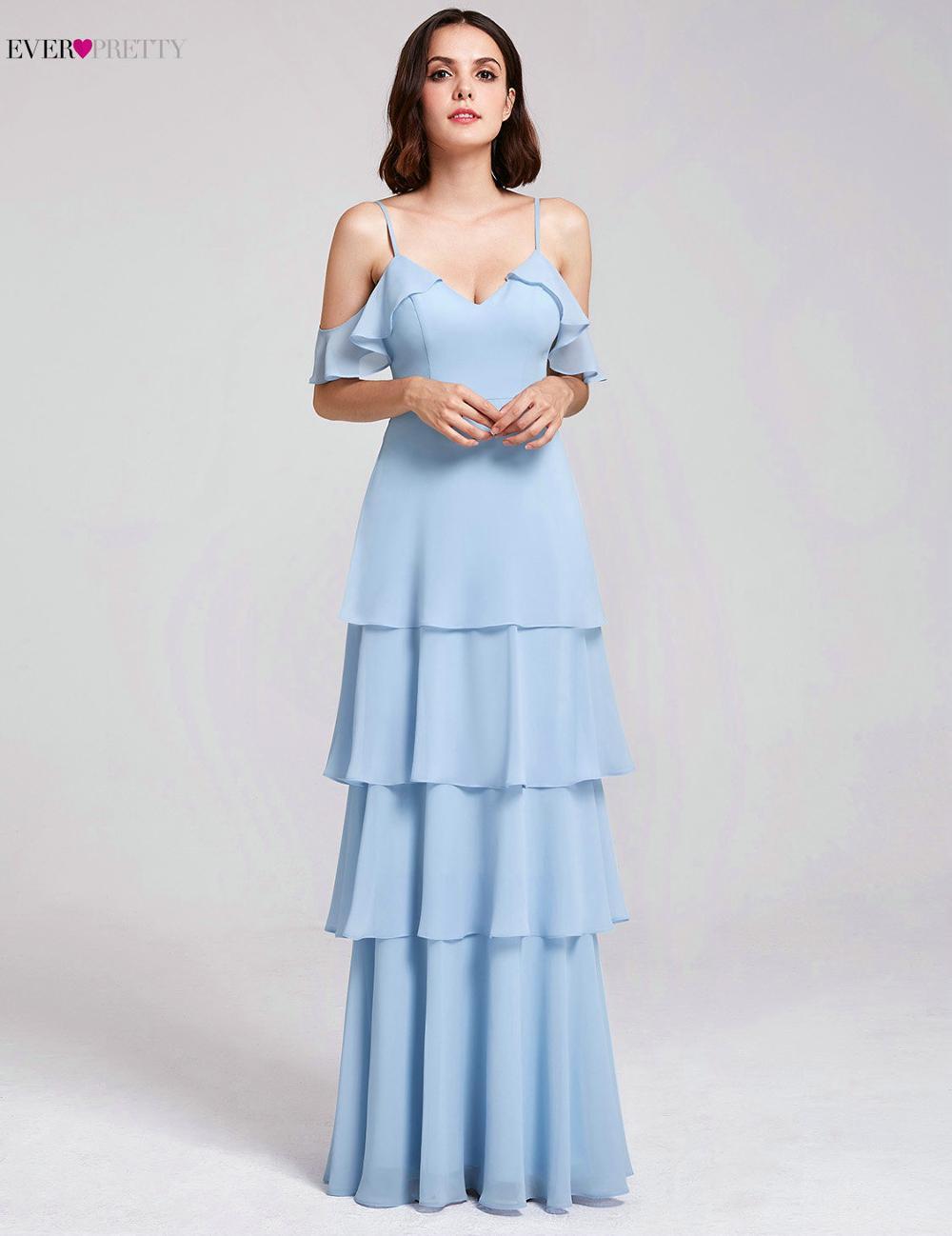 40b67c00c6 US $34.99 40% OFF|Burgundy Bridesmaid Dresses Ever Pretty Off Shoulder  Ruffles Elegant Dress Women For Wedding Party Gowns Vestidos De Madrinha-in  ...