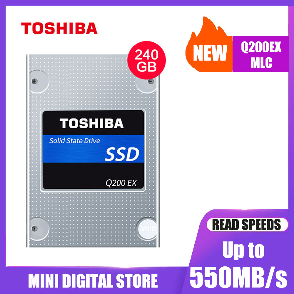 """TOSHIBA ในตัว solid state drive Q200EX 240G MLC ฮาร์ดดิสก์ไดรฟ์ 2.5 """"SATA 3 SSD ภายในสูงแคชความเร็วสูงสำหรับแล็ปท็อป-ใน โซลิดสเตทไดรฟ์ภายใน จาก คอมพิวเตอร์และออฟฟิศ บน AliExpress - 11.11_สิบเอ็ด สิบเอ็ดวันคนโสด 1"""