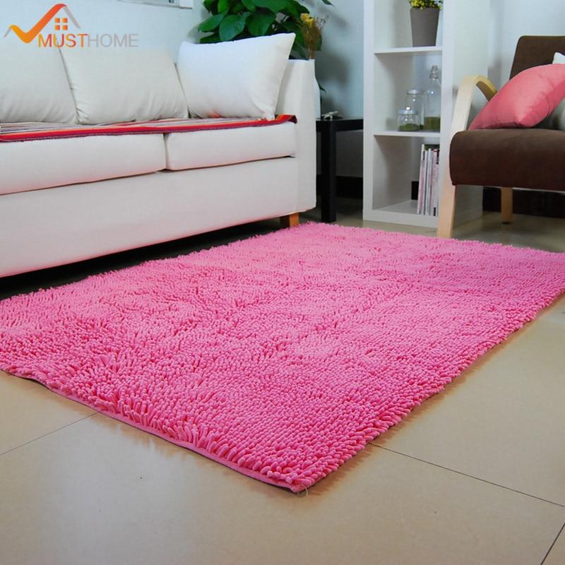 x cm saln alfombra ms grande slido moderna sala de estar dormitorio alfombras tapetes y alfombras de chenilla tela