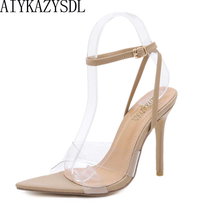 5bfb0112b6d Detail Feedback Questions about Pointed peep toe gladiator sandals ...