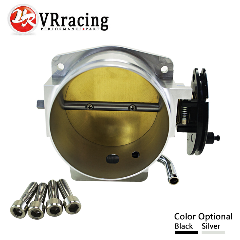 VR RACING - NEW THROTTLE BODY FOR 92MM FOR GM GEN III LS1 LS2 LS6 THROTTLE BODY LS3 LS LS7 SX LS 4 BOLT CABLE VR6937 цены