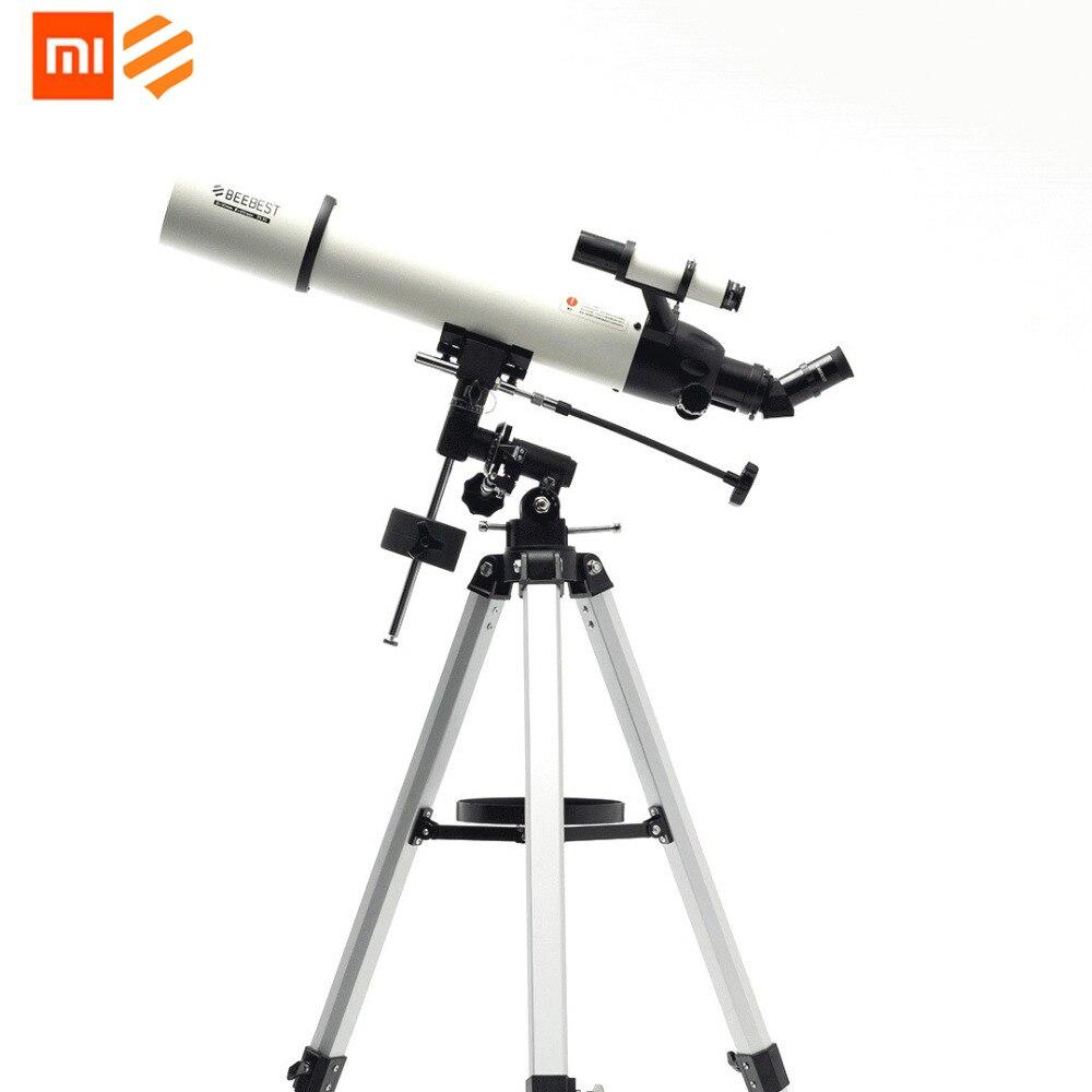 Originale Xiaomi BEEBEST XA90 Professionale Outdoor Telescopio Astronomico Principale Specchio di Alluminio Calibro 90 millimetri Alto ingrandimento HD