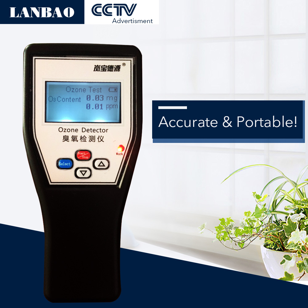 0 01 Resolution Ozone Meter Portable Accurate Ozone Detector in Gas Analyzers from Tools