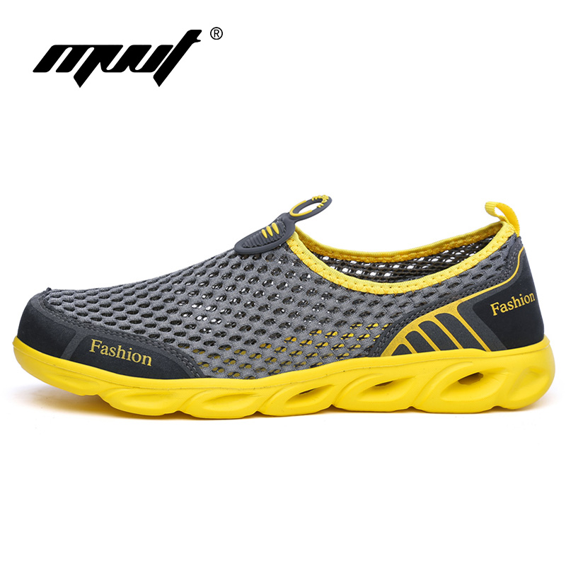 Super Cool Breathable Light Løbesko Til Mænd Sneakers Pude Udendørs Sport Sko Summer Water Shoes Aqua Shoes