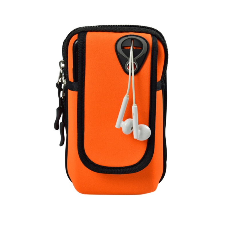 2018 Outdoor Running Mobile Arm Bag Unisex Sports Arm Bag 5 Colors To Chose Waterproof Mobile Phone Arm Bag