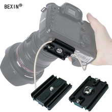 Camera quick release plate can fixed camera data line smalling quick shot plate arca swiss for camera tripod area with 1/4 screw цена 2017