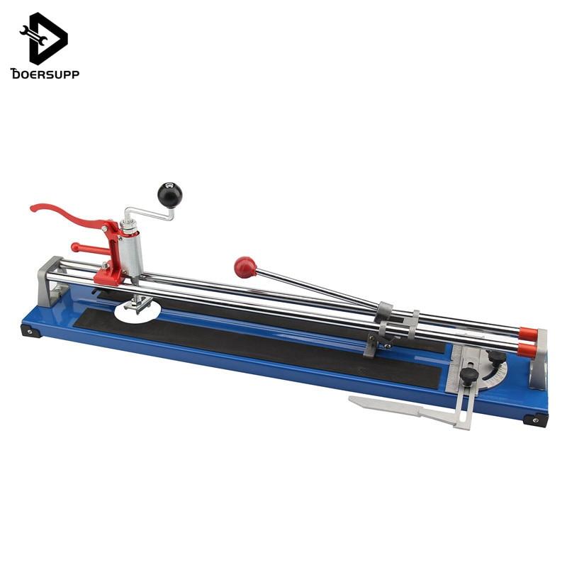 Doersupp 600mm Heavy Duty Ceramic Floor Wall Tile Hand Cutter Cutting Shaper Machine Tool Portable Cutting Machine дырокол deli heavy duty e0130