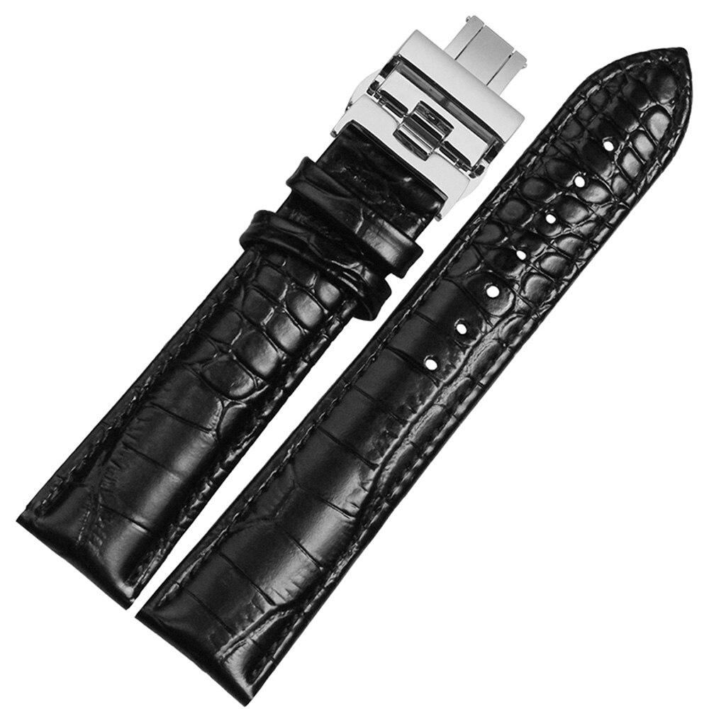 NESUN nouveau bracelet de montre en cuir véritable de haute qualité 20mm 22mm bracelet en cuir livraison gratuite