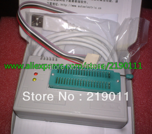 Newest V7 03 TL866II Plus USB programmer 1 8V nand flash 24 93 25 mcu Bios