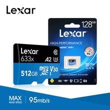 Lexar 2019 высокая скорость 512 ГБ micro sd карта популярная 16 ГБ 32 ГБ 64 Гб 128 ГБ 256 ГБ модная флеш-карта памяти micro sd для смартфона