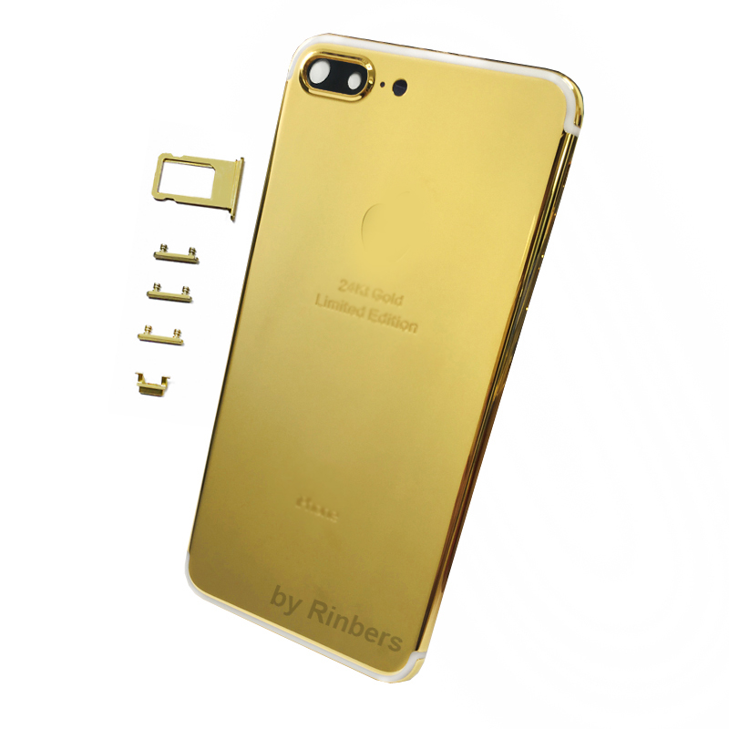 For Iphone 7 Plus 55 24k 24kt 24ct Gold Limited Edition