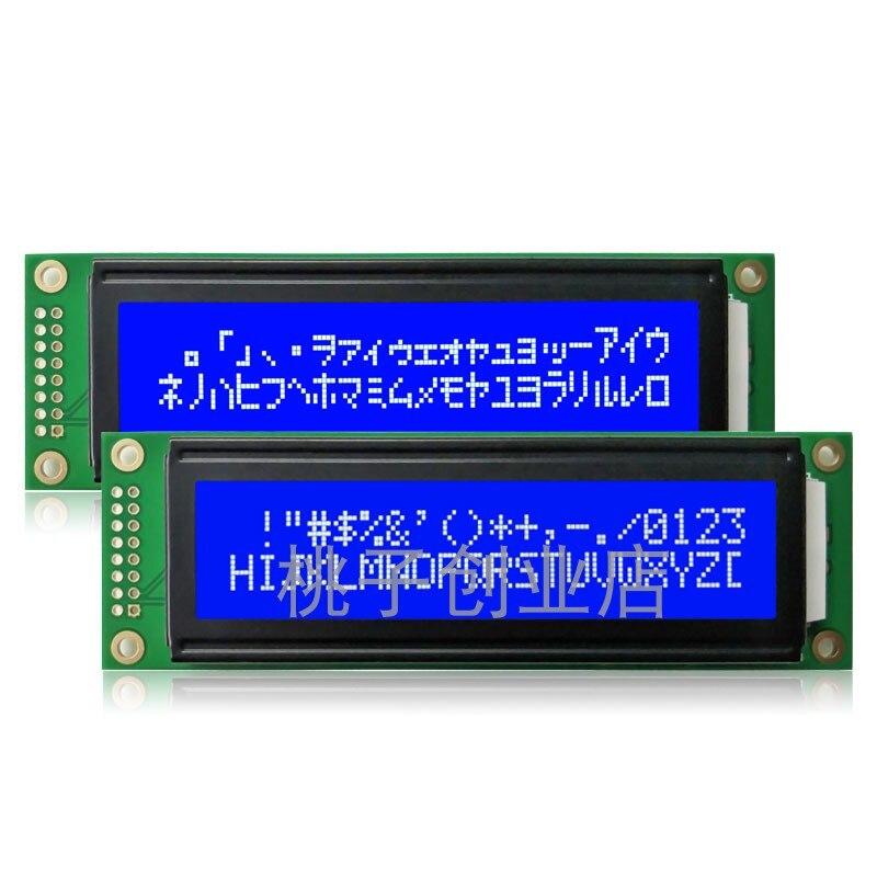 10Pcs LCD 2002A 20X2 Characters 5V Blue Screen / Yellow Screen / Green Screen LCD Screen Module