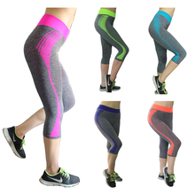 New Style Seven pants Candy Solid Leggings for women sports Yoga Gym High Waist Running leggings Strech Fitness Clothing