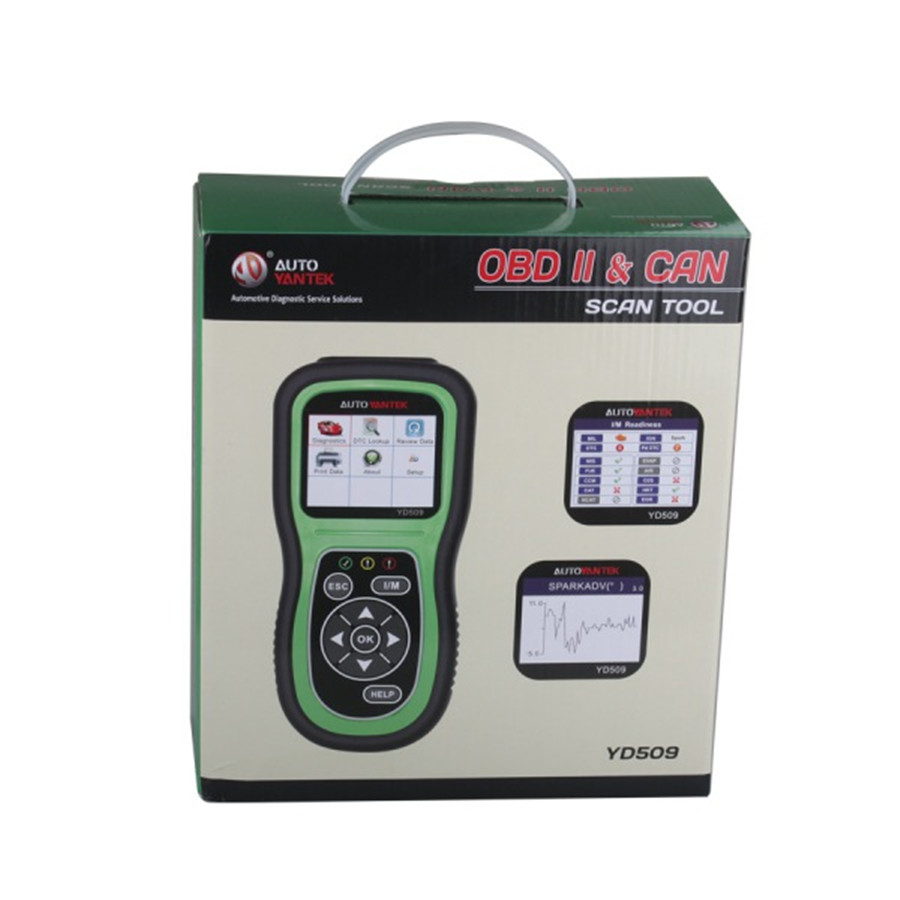 YD509 OBDII EOBD CAN Auto Code Scanner Support Multi languages - 6