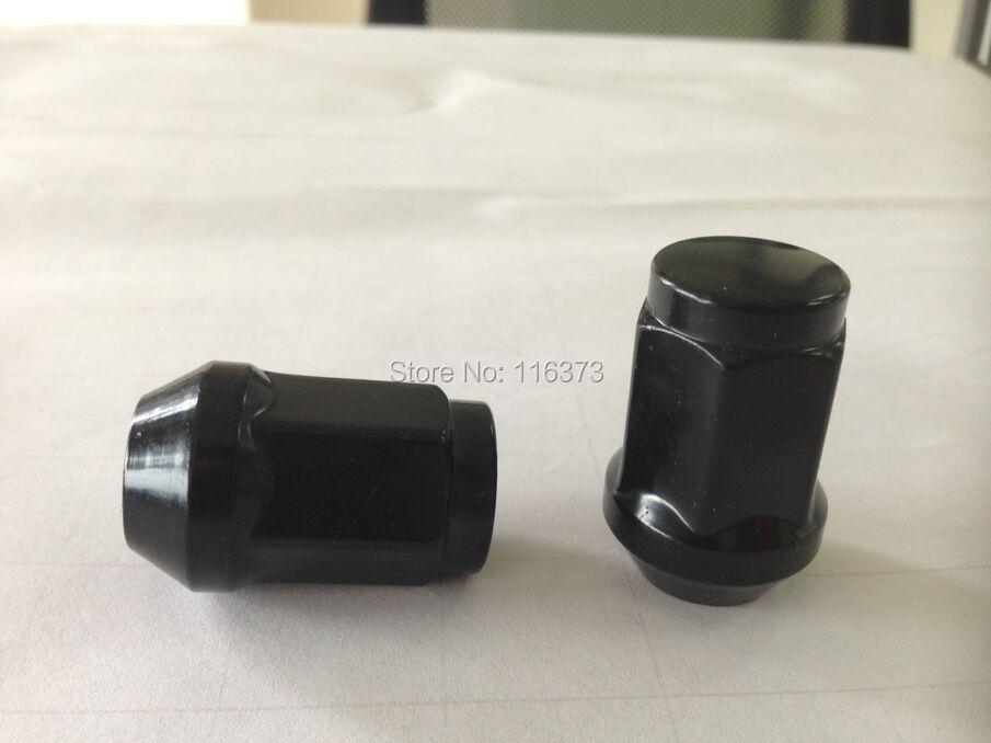 14x1.5 lug nut set of 20 pc wheel nut for Toyota Landcruiser Tundra Sequoia Chrome/Red/Black Acorn Bulge