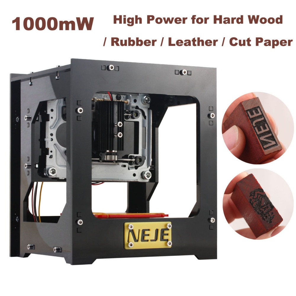 1000mW cnc crouter CNC laser cutter mini cnc engraving machine DIY Print laser engraver High Speed with Protective Glasses  on sale cnc engraving machine cnc cutter