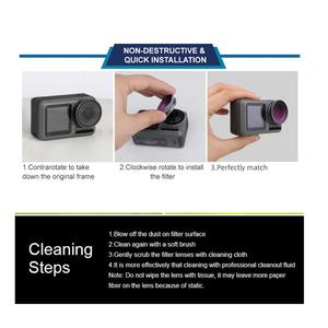 Image 5 - CPL Adjustable Lens Filters Sports Camera Lens Filters Compatible with DJI OSMO Action Vlog Handheld Gimbal Camera Accessories