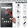 9 h protector de vidrio templado de vidrio de la sfor sony xperia z5 protección protector de pantalla de cristal de cine para sony xperia z5 trempe verre