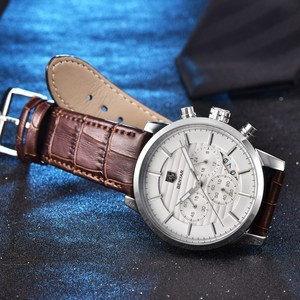 Image 5 - BENYAR Top Brand Luxury Stainless Steel Watch Men Business Casual Quartz Watch Military Wristwatch Waterproof Sport Relogio 2020