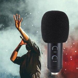 Image 4 - 5 piezas de reemplazo de micrófono de espuma cubierta de micrófono parabrisas auriculares protector de viento Pop filtro Mic cubierta de espuma