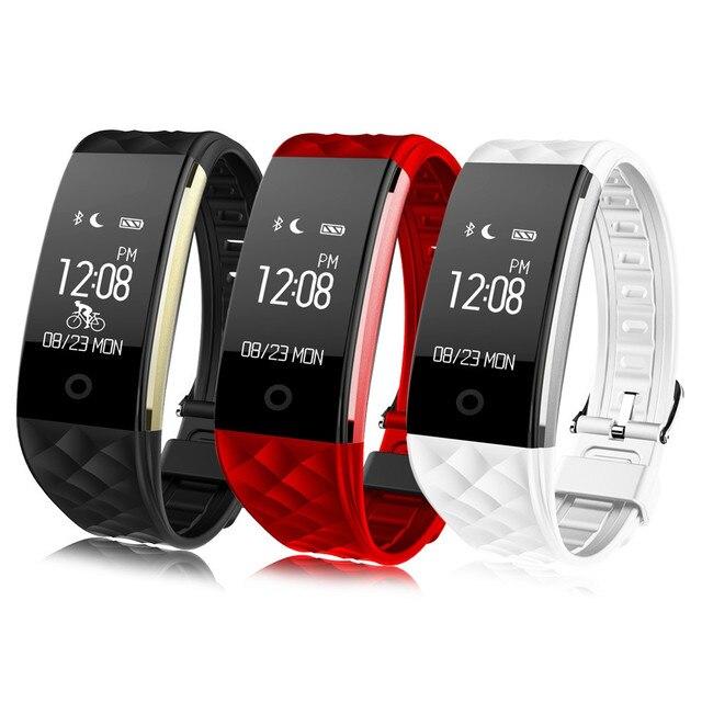 Original S2 Heart Rate Monitor Smart Wristband Pedometer Sport Fitness Tracker Smart Bracelet Remote Camera Bluetooth Smartband