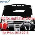 Auto Cruscotto Copertura Zerbino per Toyota Prius 2012 2013 Guida A Destra Dash Zerbino Pad Dash Zerbino Coperture Dashboard Accessori
