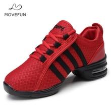 Zapatos de baile MoveFun mujeres plataforma Fitness baile zapato Jazz Hip  Hop zapatos práctica suave suela zapatillas de baile-1. 1b6d9d20fea
