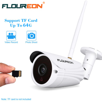 White Wanscam HW0043 720P 1 0MP P2P CMOS Sensor WiFi Outdoor Wireless IP Bullet Camera Support