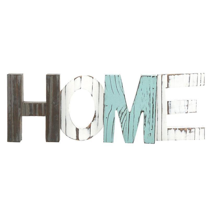 2018 Новое поступление декоративные деревянные дома знак моды Сельский постоянный вырез слово Декор украшение дома аксессуары WED2916