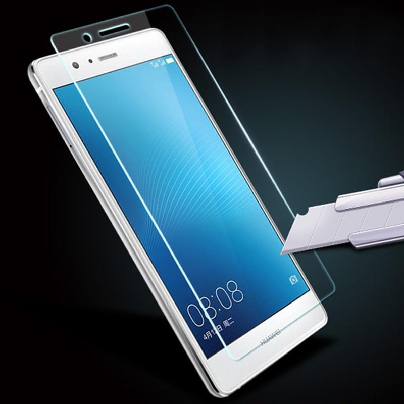 Huawei P9 Lite Tempered Glass üçün 2.5D 9H 0.3mm mükafatlı - Cib telefonu aksesuarları və hissələri - Fotoqrafiya 1