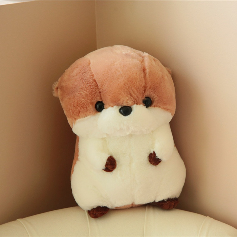 Miaoowa 1pc 30/40cm New Kawaii Otter Plush Doll Stuffed Animal Sea Otter Plush Toys Cute Kids Baby Animal Toy Cute Soft Pillow