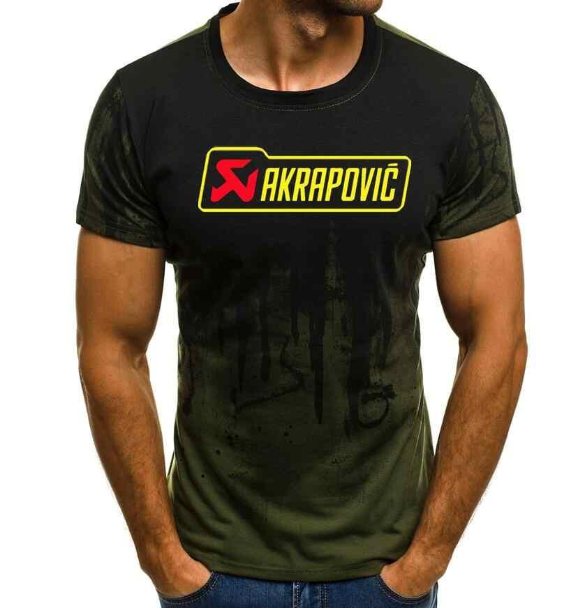 2019 Лето Мужчины Repsol HRC гоночный мотоцикл измененная футболка лето 100% хлопок с короткими рукавами Топы akrapovic футболка