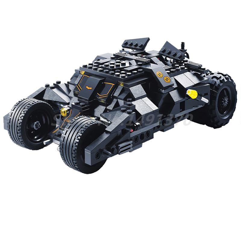 Decool 7105 DC Superheros Batmobile Car Batman Joker Figure 7888 Building Block Brick Educational DIY Toys For Kids Gifts batman tumbler bat pot 7105 batmobile joker superman 7115 model building block kit bricks boy compatiable legoes kit gift set