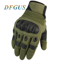 2018 Men S Tactical Gloves Army Military Full Finger Combat Gloves Mittens Outdoor Sports Anti Skid