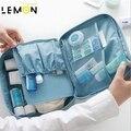 2017 Nova Marca Multifunction Sacos Senhoras Sacos de Organizador de Maquiagem Kits De Higiene Pessoal Viagem Sacos Sólidos Bolsas A1317