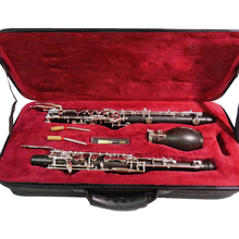 F/C English Horn Semi Auto Ebony Bakelite Alto Oboe with Case f key oboes musical instruments professional clarinet f devienne 3 oboe sonatas op 70