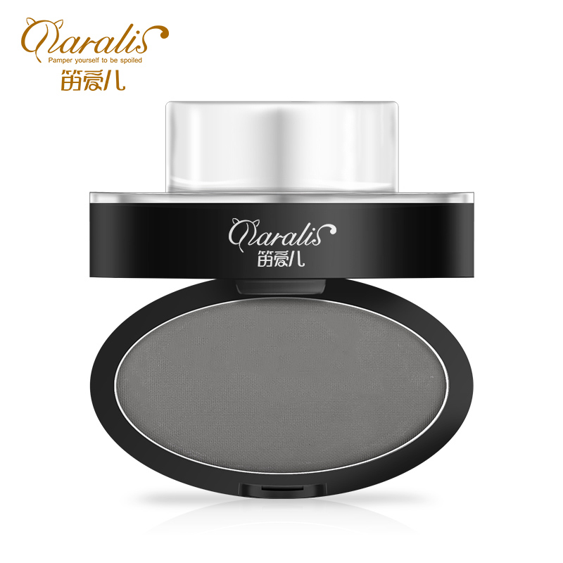 5.5g Deep Grey Eyebrow Stamp Powder Seal Shadow Set Waterproof Long Lasting Natural Eyes Brow Palette Delicated Lazy Quick Easy